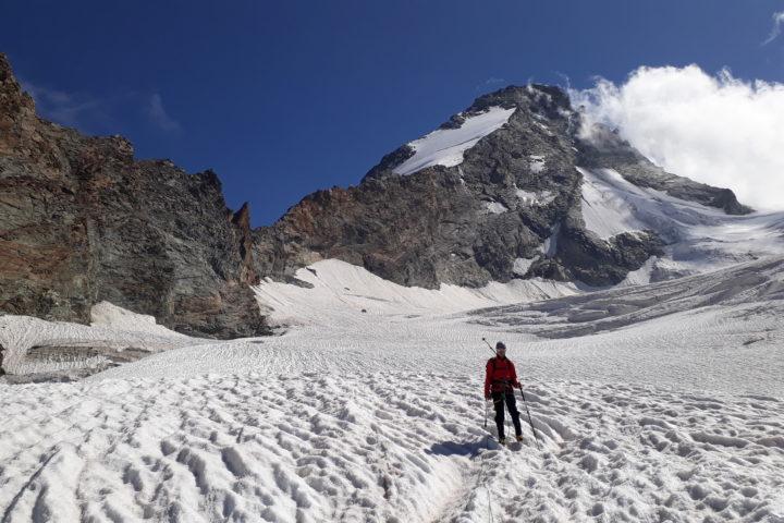Retour sur le glacier