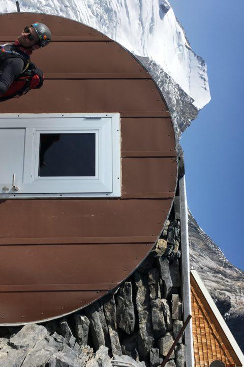 Mittelleggihütte, 3355m...