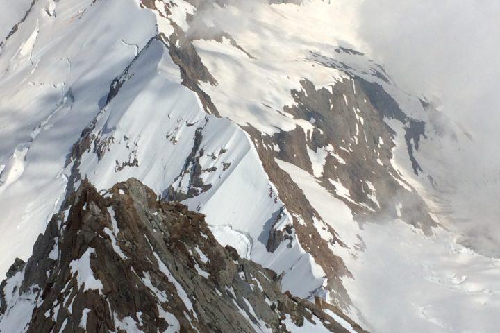 La Cresta Signal vue depuis le haut