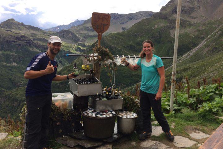 Bar Self-Service Risotto à Alagna Cresta Signal Mont-Rose