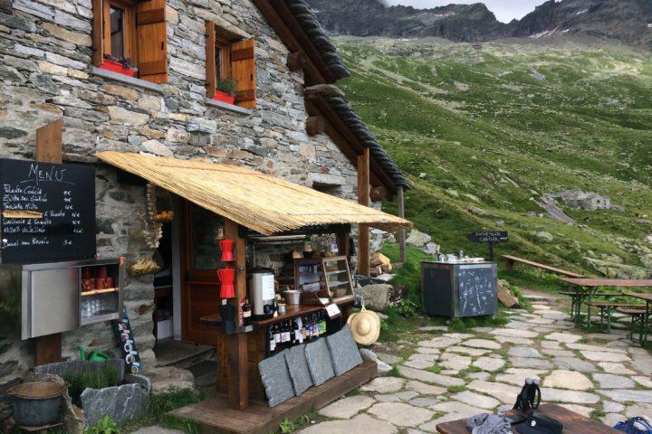 Refuge Barba-Ferrero Risotto à Alagna Cresta Signal Mont-Rose