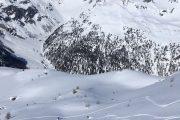 ski de rando au refuge Magia