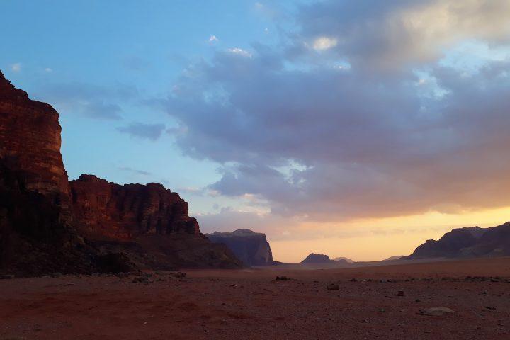 coucher de soleil Wadi Rum