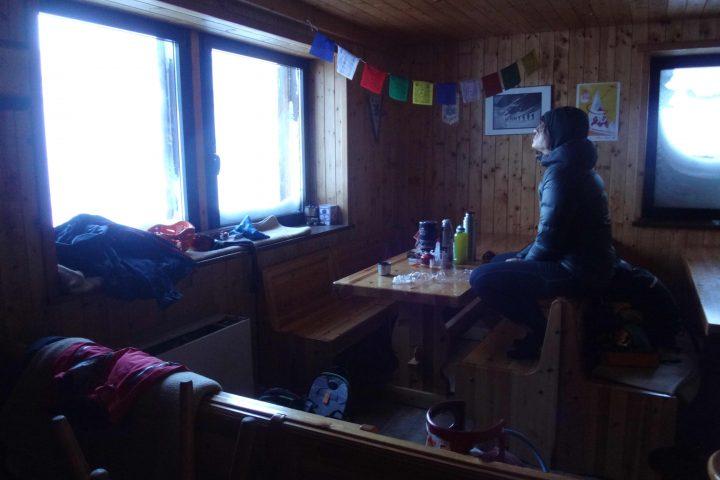 refuge Aosta, le calme après la tempête