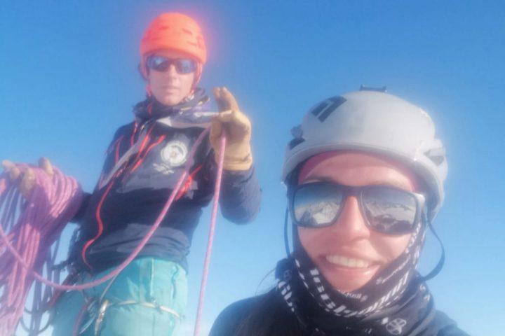 sommet de la Jungfrau fatigué mais heureux!