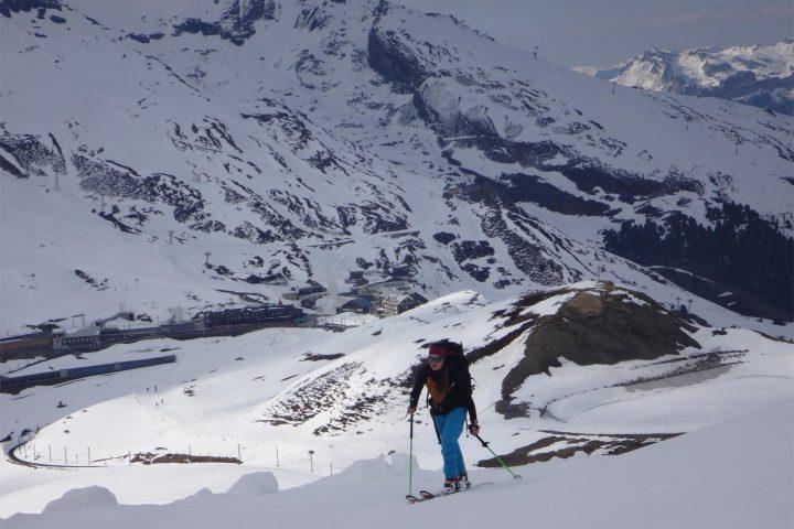 montée à la station d'Eigergletsche