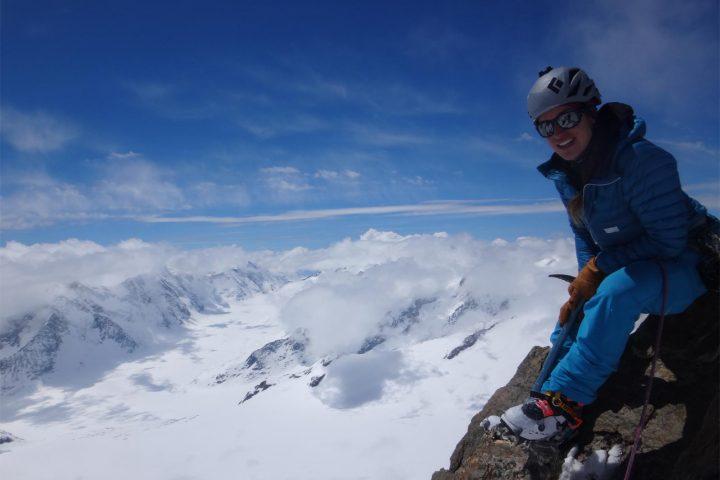 sommet de l'Hinteresfiescherhorn