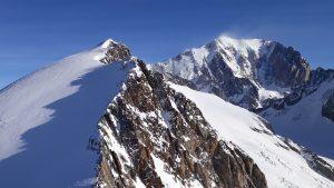 Les Dômes de Miage et le versant Miage du Mont Blanc