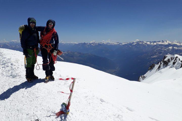 Sommet du Mont Blanc!