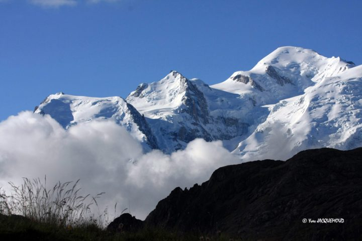 Mont Blanc face nord
