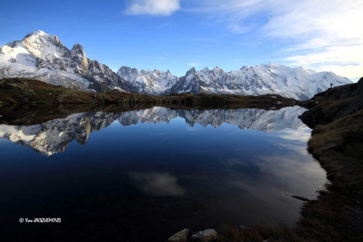Massif du Mont-Blanc miroir