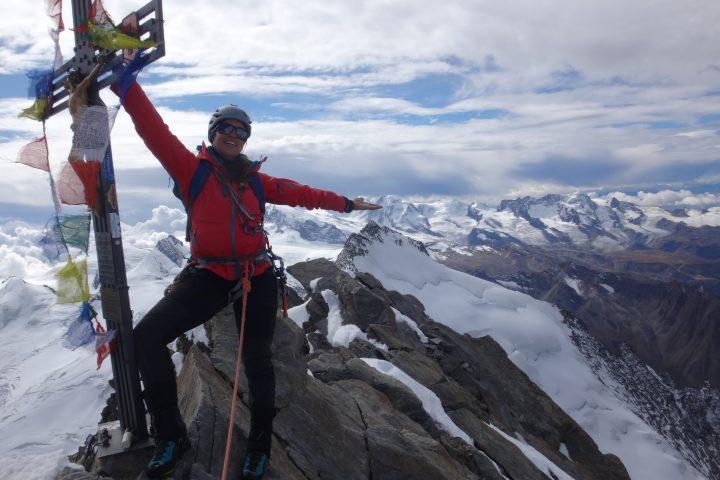 sommet du Dom de Mischabel, et de 61 4000m pour nous deux...