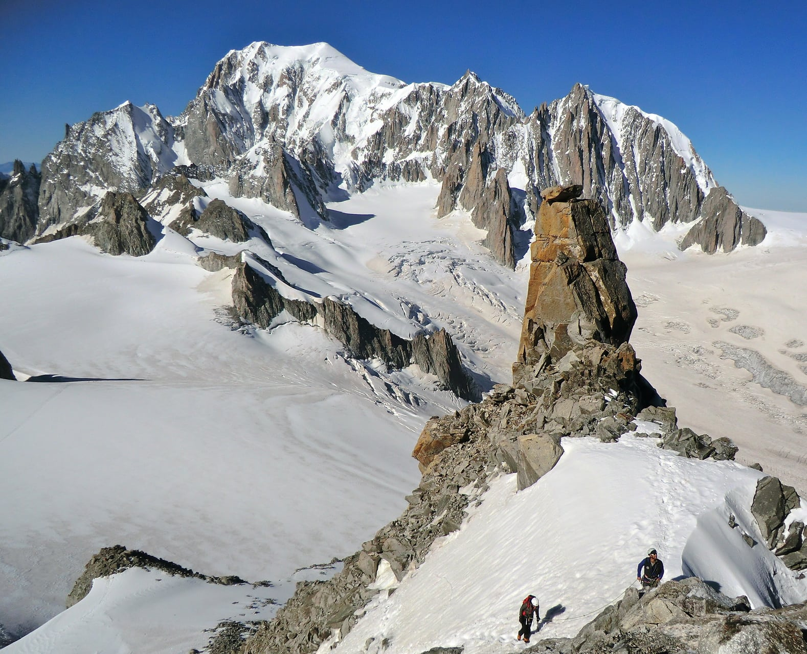 Ascension de la Dent du Géant