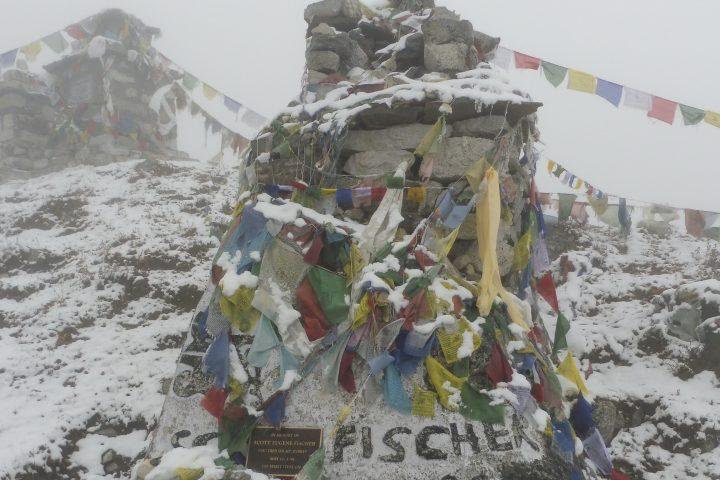 Stèles du Thok La Pass, pour les disparus à l'Everest