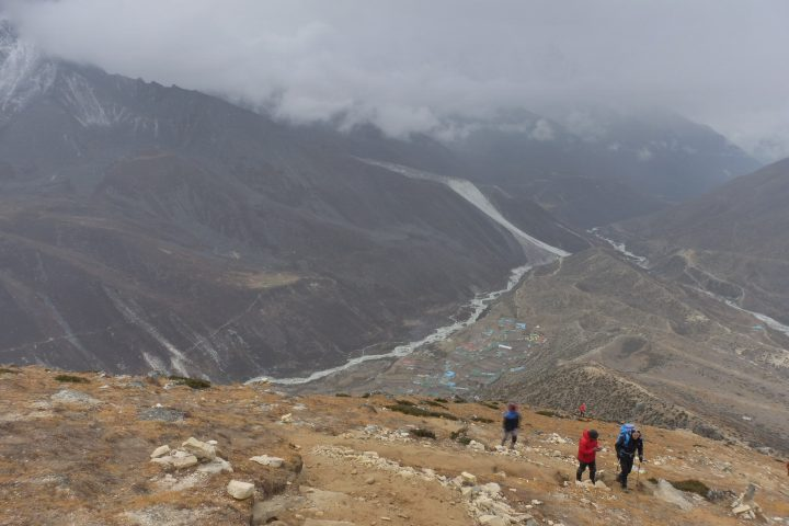 montée automnale au Nangkartshang, 5073m