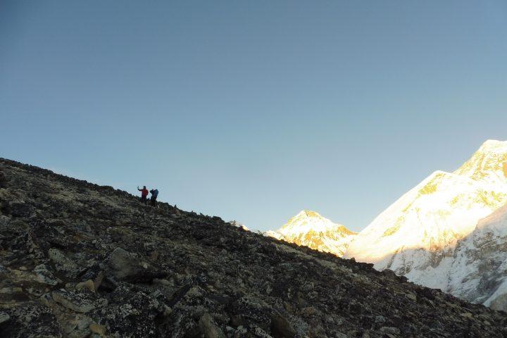 descente du Kala Pattar