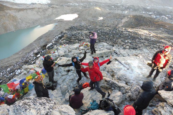 sommet du Kala Pattar, 5648m