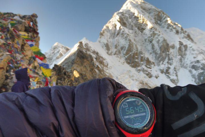 Pumori depuis le Kala Pattar, 5648m