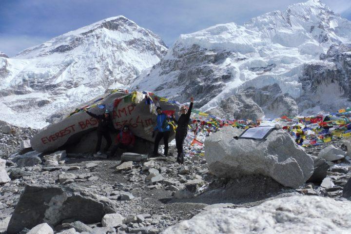 camp de base de l'Everest, 5300m