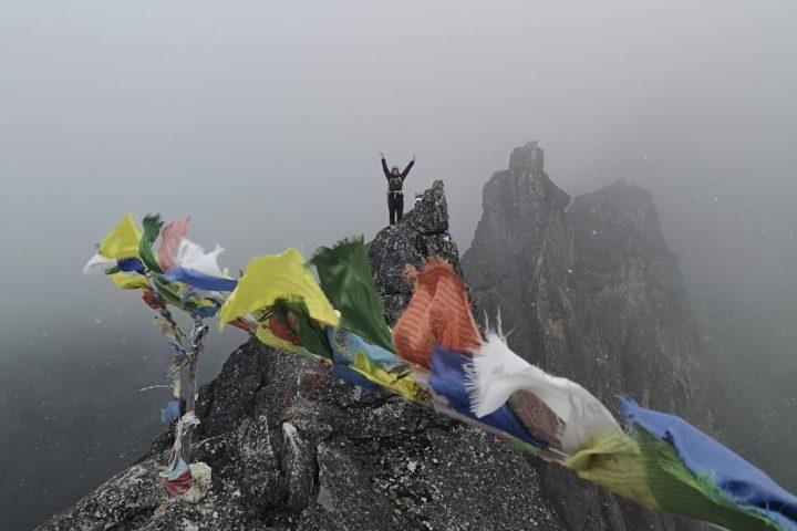 Sommet du Nangkartshang, 5073m