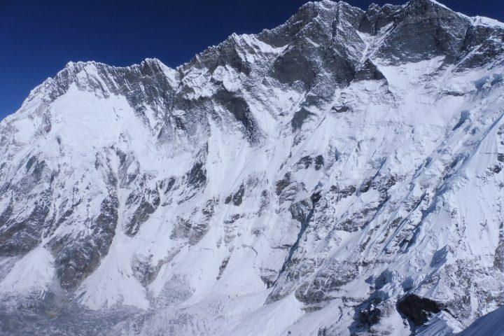 Immense face sud du Lhotse, 8516m