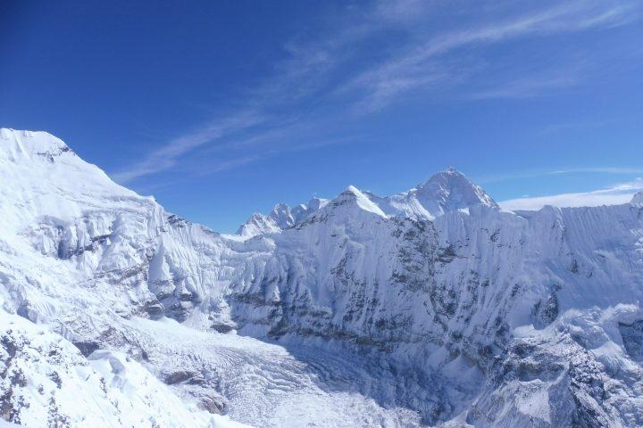 Makalu (8485m), derrrière le Cho Polu