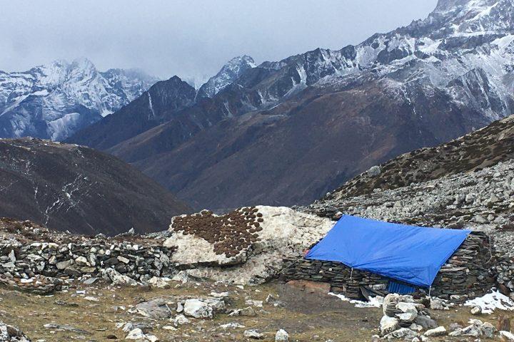 Alpage de Dusa, entre Dingboche et Tukla