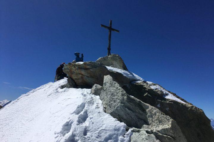 Croix sommitale du Weisshorn