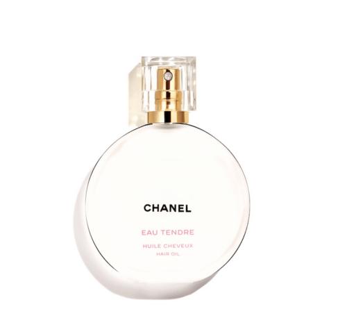 Chanel , eau de tendre, huile de cheveux