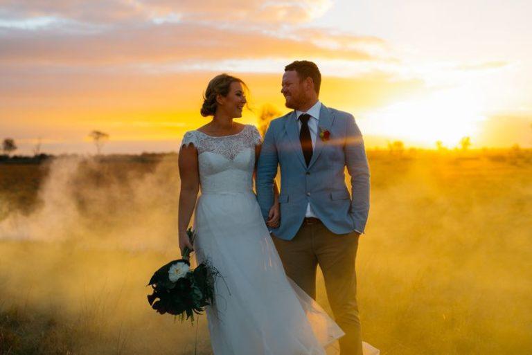 Les fumigènes pour les photos de mariage