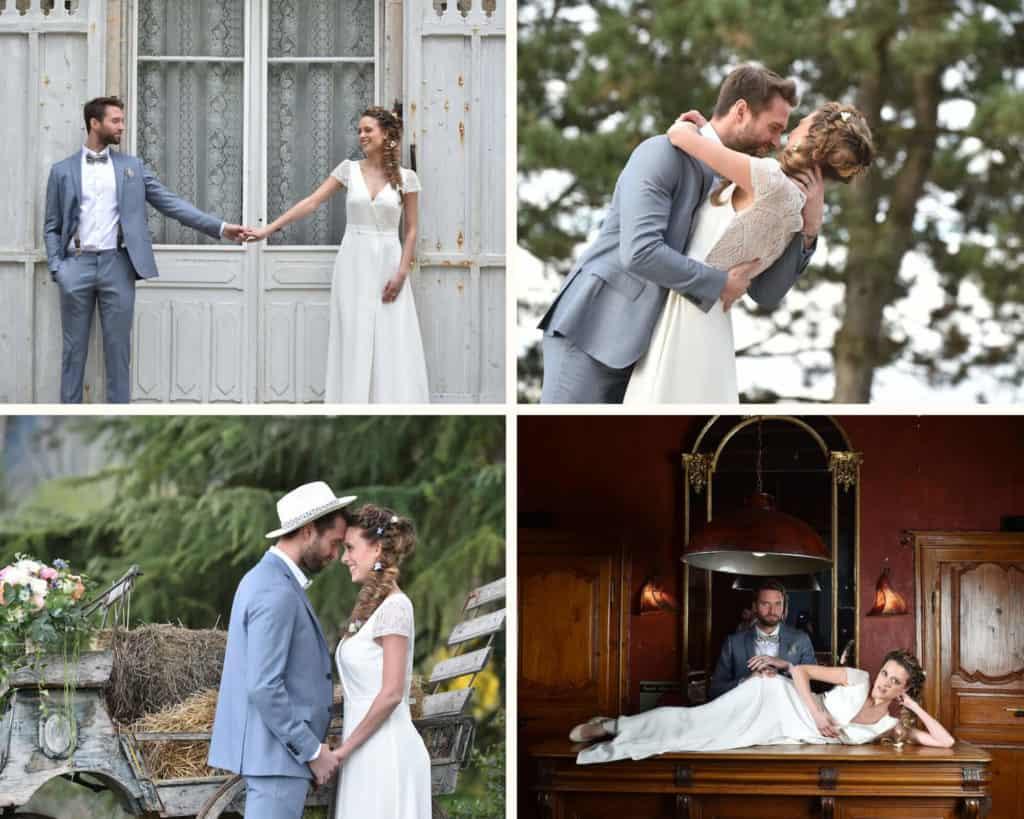 Inspirations mariage romantique