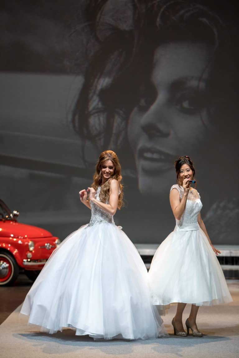 Salon du mariage Genève 2017 défilé