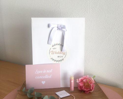 Pochette Ondes positives My Wedding Box