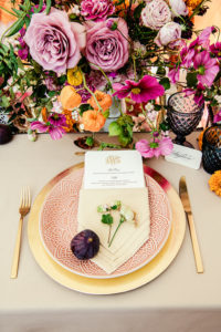 Table Inspiration Oriental mariage