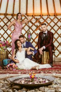 Couverture magazine mariage Suisse