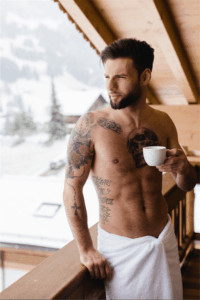 Nirech Casanova Shooting Mariage d'hiver Magazine semarier.ch