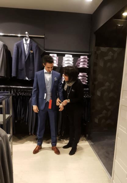 Témoignage de Philippe et Quentin sur le choix de leurs costumes de mariage chez Angéloz Mode